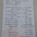 Service Tax : Mengapa Dibebankan Kepada Konsumen
