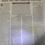 Baitul Asyi dan Filantropi Para Haji